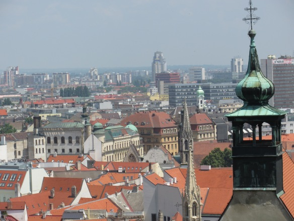 Roofs of Bratislava old town