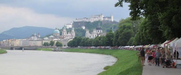Salzburg Riverside Craft market
