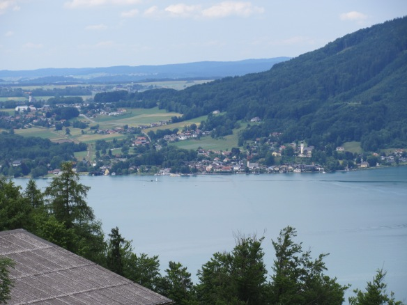 Attersee lake view Upper Austria
