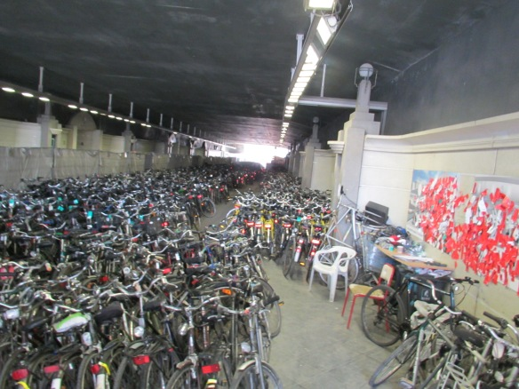 Cycle Parking Ghent Station