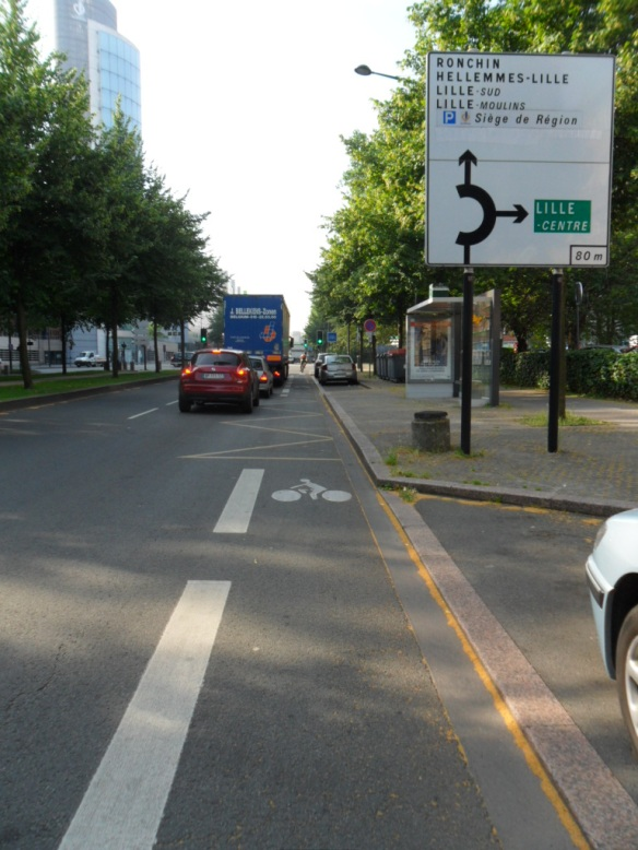 Cycling Infrastructure Lille