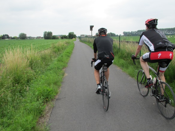 Cycling out into Flanders