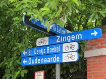 Flanders Cycle route signs