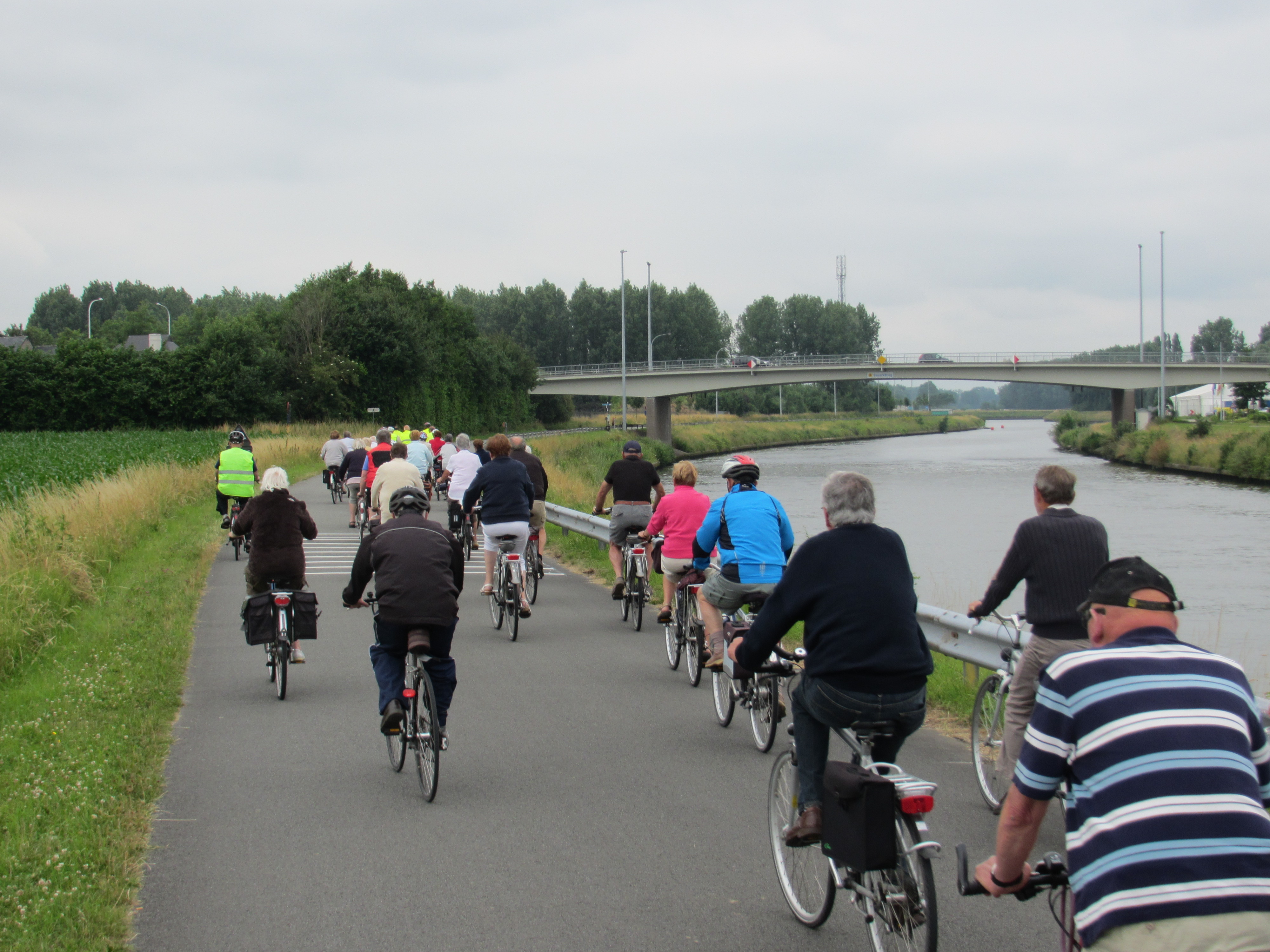 give us a break! Even the senior citizens ride didn't bat an eyelid