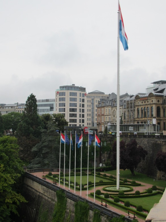 Luxembourg Constitution Square View