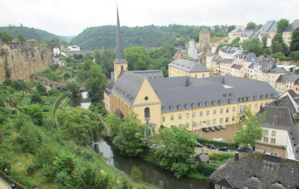 Luxembourg Eglise St Jean Baptiste