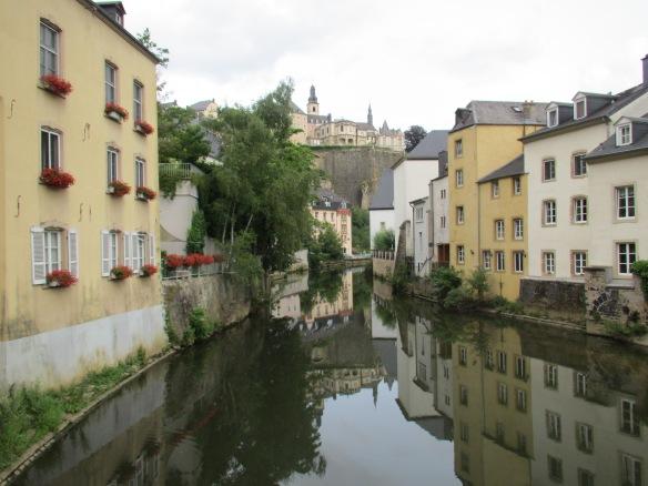 Luxembourg River Alzette Grund