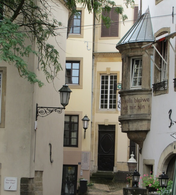 Luxembourg Street Scene 2