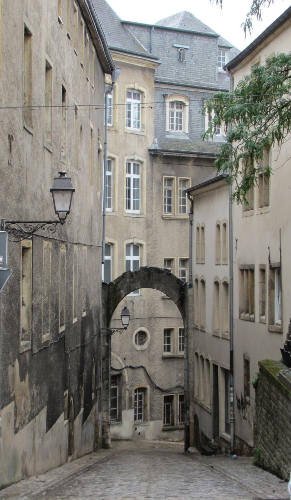 Luxembourg Street scene