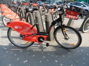 L'ville bike sharing Lille