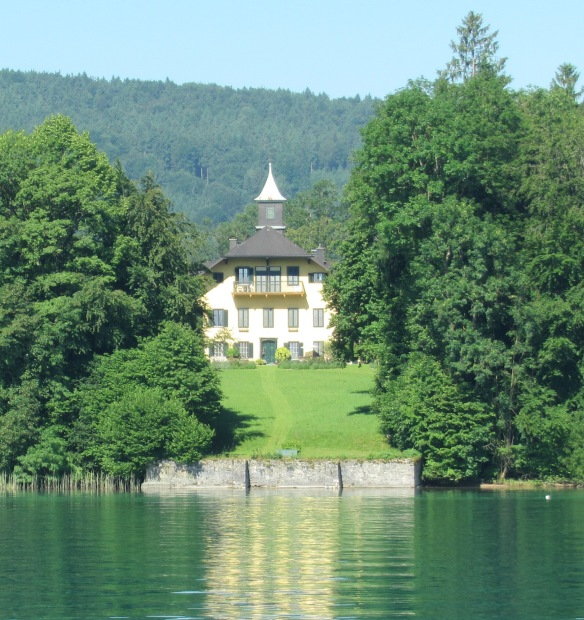 Attersee - house on the lakeside
