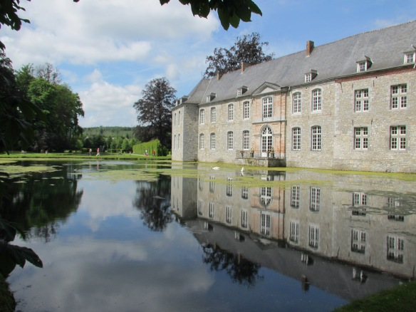 Chateau Annevoie Wallonia Belgium
