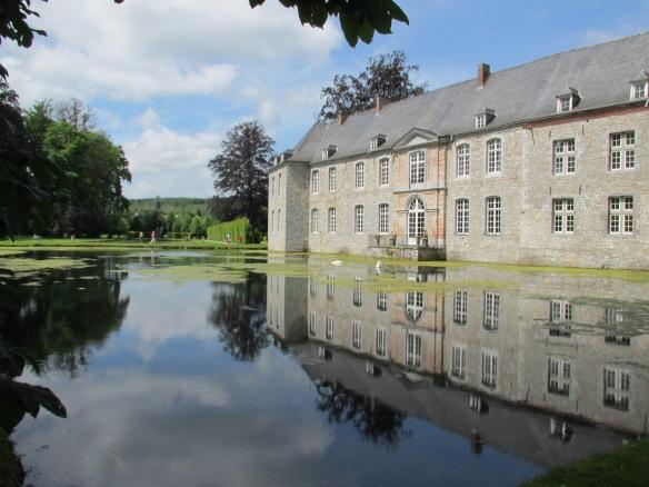 Chateau Annevoie Wallonia Belgium