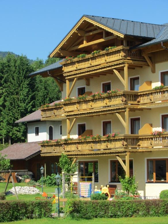 Salzkammergut Austria - house