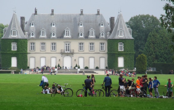 Chateau Solvay La Hulpe cyclisme