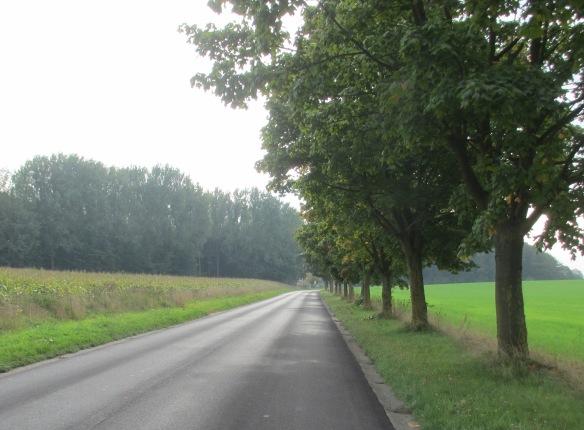 Deserted Belgian roads Brabant Wallon
