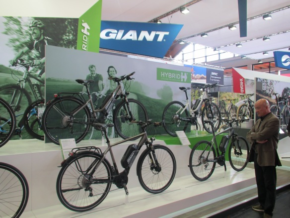 Tony Lo Giant at Eurobike