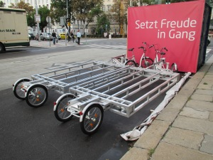 Vienna cargo bike platforms