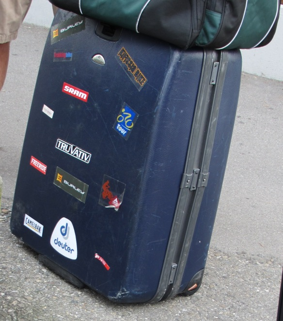 Luggage bound for Eurobike