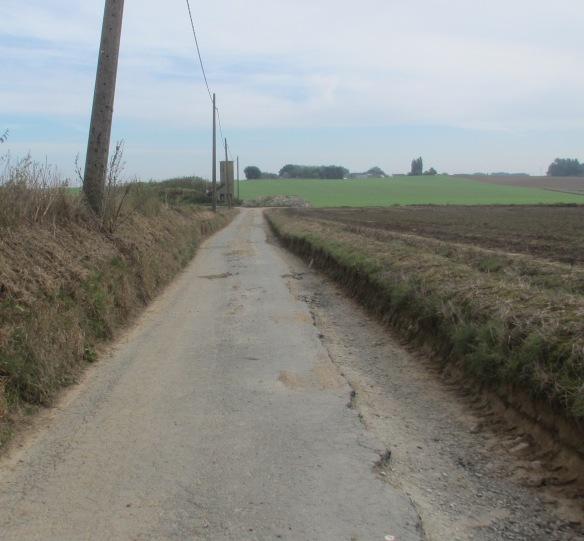 Tracks near Lillois Belgium