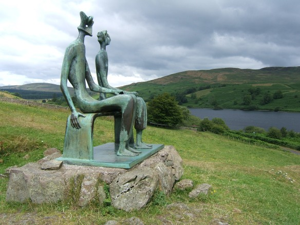 Henry Moore King and Queen Glenkiln