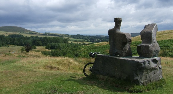 Henry Moore Two Piece Reclining Figure No.1 Glenkiln