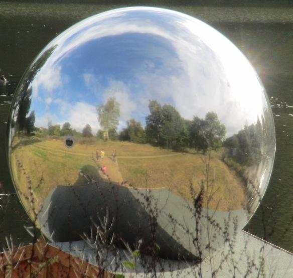 Jem Finer Spiegelei Yorkshire Sculpture Park