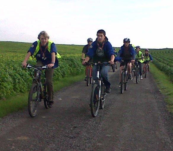 Belgian scout ride