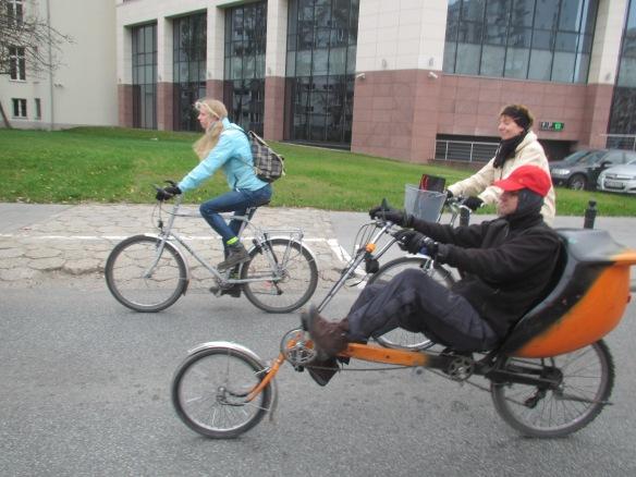 Climate Ride recumbent Warsaw