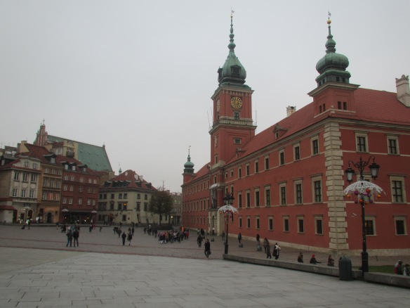 Warsaw Old Town City Centre