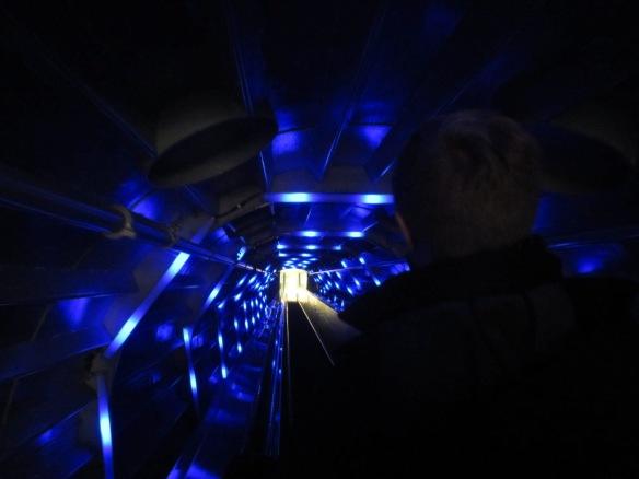 Brussels Atomium escalator