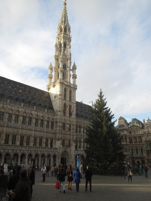 Grand Place Brussels day