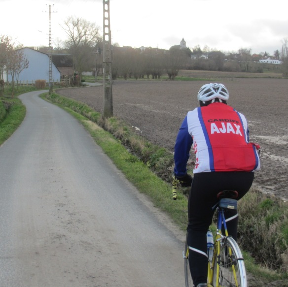 Bottom of the Oude Kwaremont