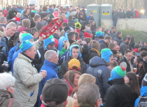Diegem crowds cyclocross