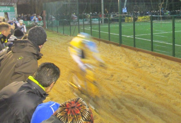 Diegem cyclocross at speed