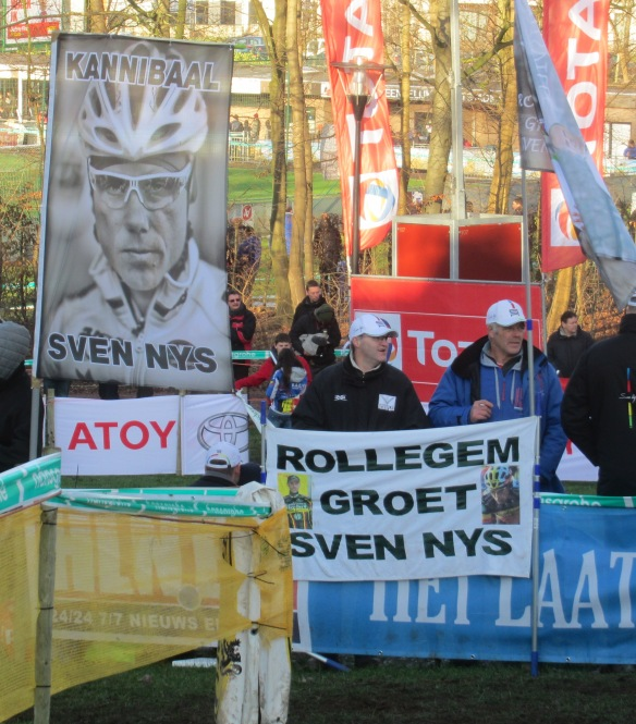 Diegem fans Sven Nys