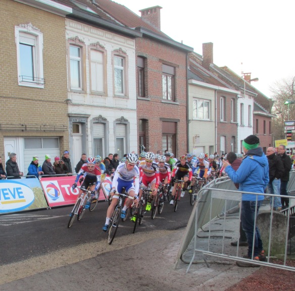 Diegem supercross U23 start