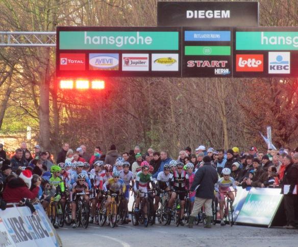 Diegem supercross womens start