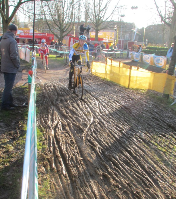 Diegem superprestige muddy section