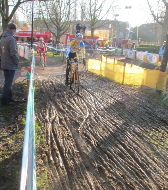 Diegem superprestige muddy section