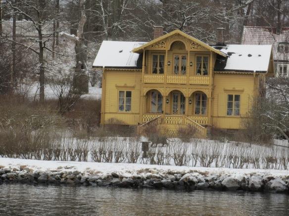 Djurgarden house Stockholm