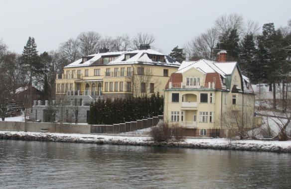 Houses on Djurgarden Stockholm