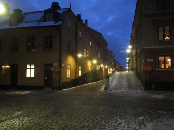 Mariaberget street scene