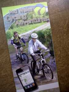 Mid Wales Cycling Adventures leaflet