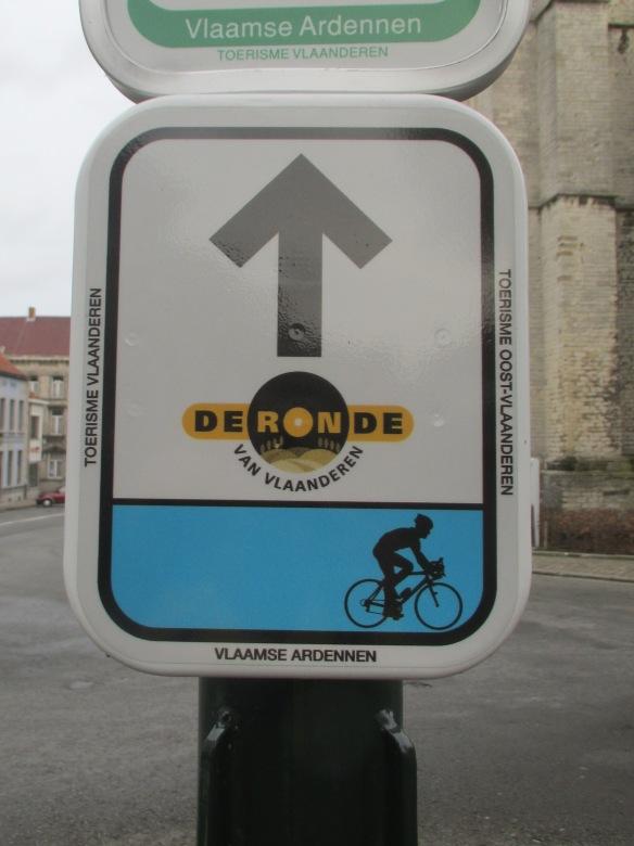 Ronde van Vlaanderen Blue route
