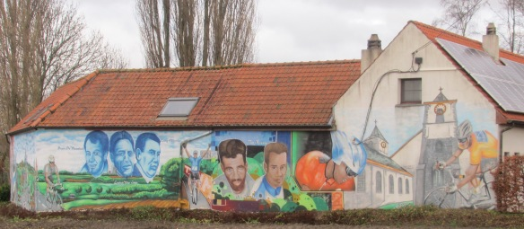 Ronde Van Vlaanderen Mural Flanders