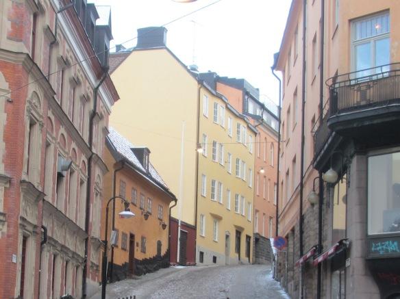 Sondermalm streets Stockholm