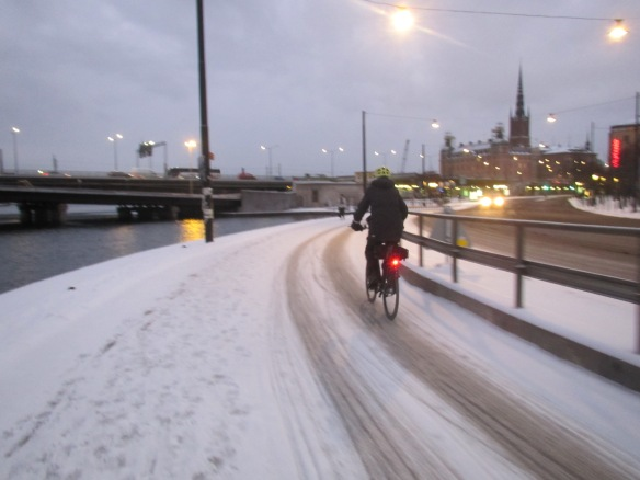 Stockholm cycle path