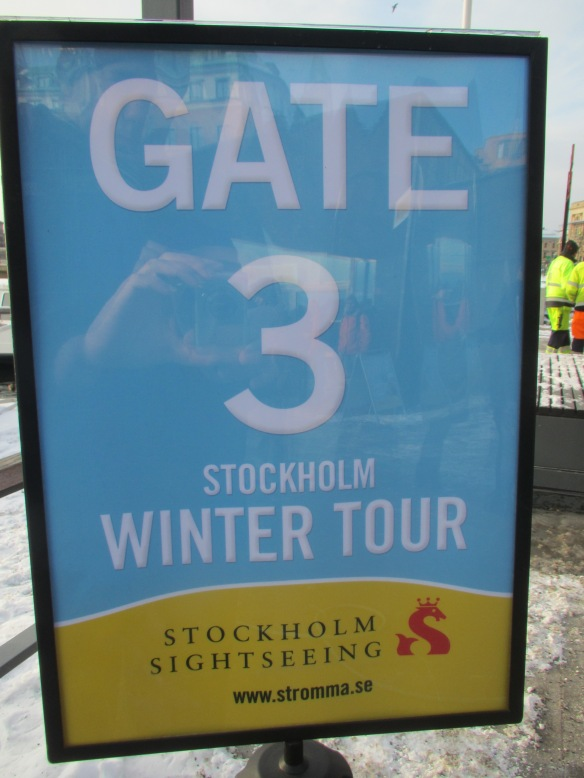 Stockholm Winter harbour Cruise