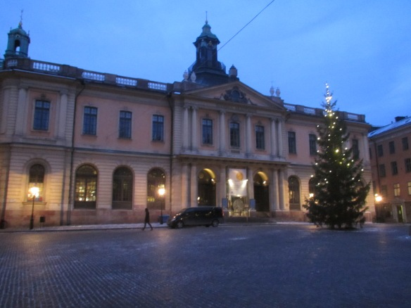The Swedish Academy Stockholm
